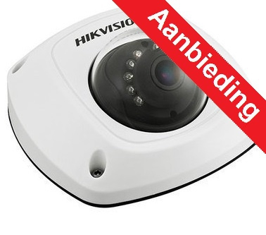 Hikvision 2Mp WIFI IP Wedge buiten camera, audio, 10m IR, 4mm